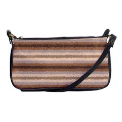Horizontal Native American Curly Stripes   3 Evening Bag by BestCustomGiftsForYou