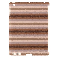 Horizontal Native American Curly Stripes   3 Apple Ipad 3/4 Hardshell Case (compatible With Smart Cover) by BestCustomGiftsForYou