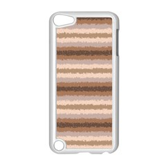 Horizontal Native American Curly Stripes   3 Apple Ipod Touch 5 Case (white) by BestCustomGiftsForYou