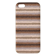 Horizontal Native American Curly Stripes   3 Apple Iphone 5 Premium Hardshell Case by BestCustomGiftsForYou