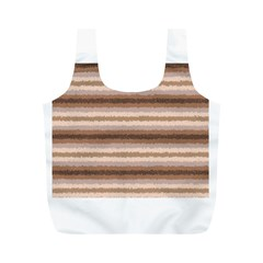 Horizontal Native American Curly Stripes   3 Reusable Bag (m) by BestCustomGiftsForYou
