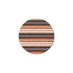 Horizontal Native American Curly Stripes   4 Golf Ball Marker by BestCustomGiftsForYou