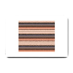 Horizontal Native American Curly Stripes   4 Small Door Mat by BestCustomGiftsForYou