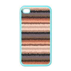 Horizontal Native American Curly Stripes   4 Apple Iphone 4 Case (color) by BestCustomGiftsForYou