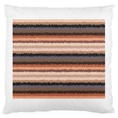 Horizontal Native American Curly Stripes   4 Large Cushion Case (single Sided)  by BestCustomGiftsForYou