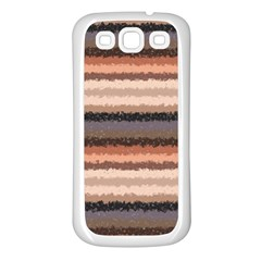 Horizontal Native American Curly Stripes   4 Samsung Galaxy S3 Back Case (white) by BestCustomGiftsForYou