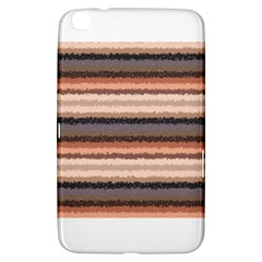 Horizontal Native American Curly Stripes   4 Samsung Galaxy Tab 3 (8 ) T3100 Hardshell Case  by BestCustomGiftsForYou