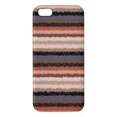 Horizontal Native American Curly Stripes   4 Iphone 5s Premium Hardshell Case by BestCustomGiftsForYou