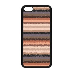 Horizontal Native American Curly Stripes   4 Apple Iphone 5c Seamless Case (black) by BestCustomGiftsForYou