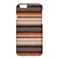Horizontal Native American Curly Stripes   4 Apple Iphone 6 Plus Hardshell Case by BestCustomGiftsForYou