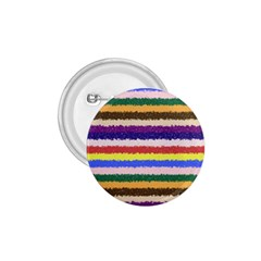 Horizontal Vivid Colors Curly Stripes   1 1 75  Button by BestCustomGiftsForYou
