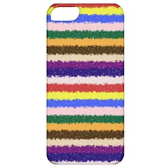 Horizontal Vivid Colors Curly Stripes   1 Apple Iphone 5 Classic Hardshell Case by BestCustomGiftsForYou