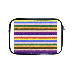 Horizontal Vivid Colors Curly Stripes   1 Apple Ipad Mini Zippered Sleeve by BestCustomGiftsForYou