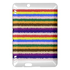 Horizontal Vivid Colors Curly Stripes - 1 Kindle Fire HDX Hardshell Case