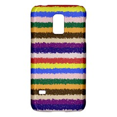 Horizontal Vivid Colors Curly Stripes   1 Samsung Galaxy S5 Mini Hardshell Case