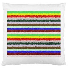Horizontal Vivid Colors Curly Stripes   2 Large Cushion Case (two Sided)  by BestCustomGiftsForYou