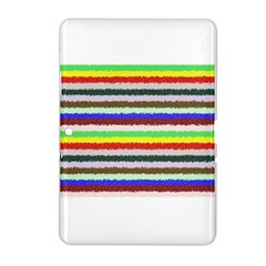 Horizontal Vivid Colors Curly Stripes   2 Samsung Galaxy Tab 2 (10 1 ) P5100 Hardshell Case  by BestCustomGiftsForYou