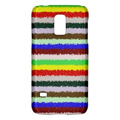 Horizontal Vivid Colors Curly Stripes   2 Samsung Galaxy S5 Mini Hardshell Case