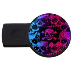 Skull&bones Pop 2gb Usb Flash Drive (round) by OCDesignss