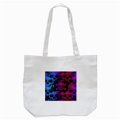 Skull&bones Pop Tote Bag (white) by OCDesignss