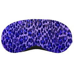 Blue Leopard  Sleeping Mask by OCDesignss