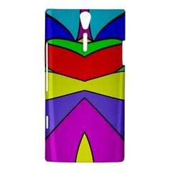Abstract Sony Xperia S Hardshell Case  by Siebenhuehner