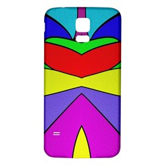Abstract Samsung Galaxy S5 Back Case (white) by Siebenhuehner