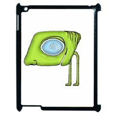 Funny Alien Monster Character Apple Ipad 2 Case (black) by dflcprints