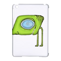 Funny Alien Monster Character Apple Ipad Mini Hardshell Case (compatible With Smart Cover) by dflcprints