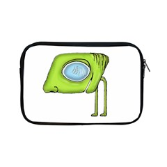 Funny Alien Monster Character Apple Ipad Mini Zippered Sleeve by dflcprints