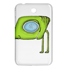 Funny Alien Monster Character Samsung Galaxy Tab 3 (7 ) P3200 Hardshell Case  by dflcprints