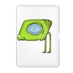 Funny Alien Monster Character Samsung Galaxy Tab 2 (10 1 ) P5100 Hardshell Case  by dflcprints