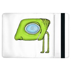 Funny Alien Monster Character Apple Ipad Air Flip Case by dflcprints