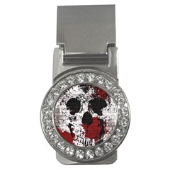 Skull Grunge Graffiti  Money Clip (cz) by OCDesignss