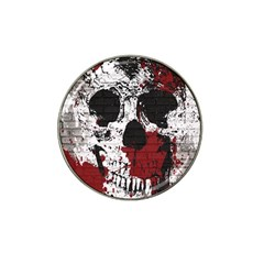 Skull Grunge Graffiti  Golf Ball Marker 4 Pack (for Hat Clip) by OCDesignss