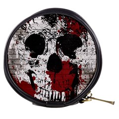 Skull Grunge Graffiti  Mini Makeup Case by OCDesignss