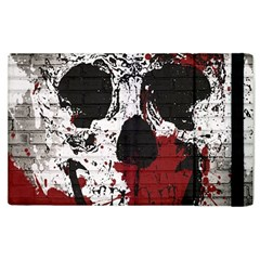 Skull Grunge Graffiti  Apple Ipad 2 Flip Case by OCDesignss