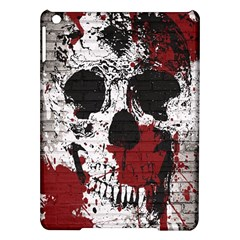 Skull Grunge Graffiti  Apple iPad Air Hardshell Case by OCDesignss