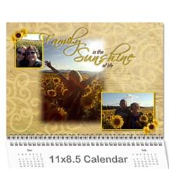 2015 Calendar Mom By Sarah   Wall Calendar 11  X 8 5  (12 Months)   Ywcxtmlzu9fb   Www Artscow Com Cover