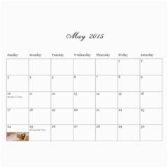2015 Calendar Mom By Sarah   Wall Calendar 11  X 8 5  (12 Months)   Ywcxtmlzu9fb   Www Artscow Com May 2015