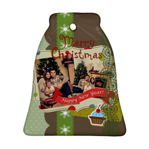 Xmas By Xmas   Ornament (bell)   M1izg85w62va   Www Artscow Com Front