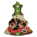 xmas - Christmas Tree Ornament (Two Sides)