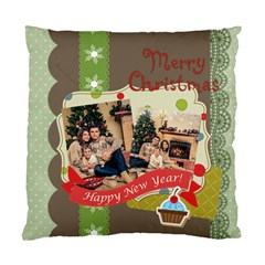 Xmas By Xmas   Standard Cushion Case (two Sides)   Ucziw4ts0amd   Www Artscow Com Front