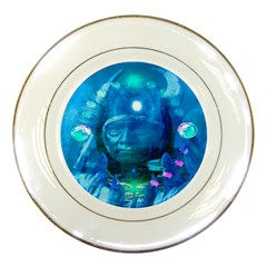 Magician  Porcelain Display Plate by icarusismartdesigns