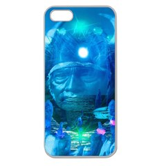 Magician  Apple Seamless Iphone 5 Case (clear) by icarusismartdesigns