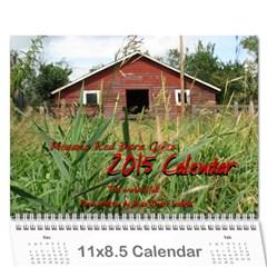 2015 Calendar By Megan Pennington   Wall Calendar 11  X 8 5  (12 Months)   S7ukyy4d5k6x   Www Artscow Com Cover