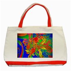 Sun Coleus Enhanced Classic Tote Bag (red) by sirhowardlee