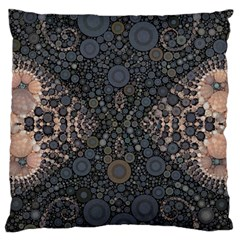 Elegant Delight Large Cushion Case (single Sided)  by OCDesignss