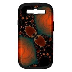 Elegant Delight  Samsung Galaxy S Iii Hardshell Case (pc+silicone) by OCDesignss