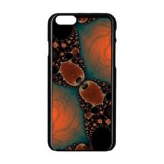 Elegant Delight  Apple Iphone 6 Black Enamel Case by OCDesignss